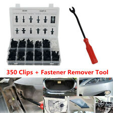 350 Clips Car Body Door Push Pin Rivet Trim Fastener Screwdriver Remover Kit Box