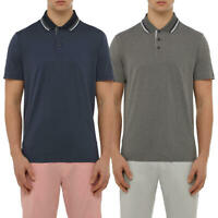 Wolsey Mens Tipping Breathable Lightweight Golf Polo Shirt 73% OFF RRP