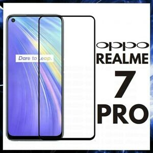 For OPPO REALME 7 PRO CURVED SCREEN PROTECTOR FULL COVER GORILLA TEMPERED GLASS
