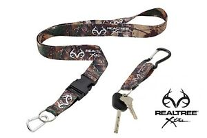 Realtree Xtra Neck Strap With Quick Release & Realtree Xtra Keyring Combo