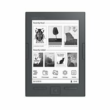 "eReader Energy Sistem Slim HD 6"" E-Ink Card hd 8GB Ultralight Button side"