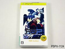 Persona 3 Portable Best PSP Japanese Import JP Japan P3P Portable US Seller B