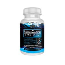Actif MegaCount for Men - Maximum Sperm Count and Motility - Non-GMO, Made in US
