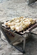 Portable charcoal grill.  Hibachi grill OPW