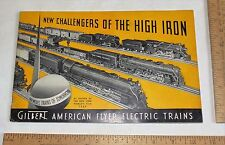 GILBERT AMERICAN FLYER ELECTRIC TRAINS New Challengers of The High Iron  CATALOG