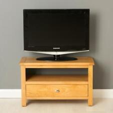 Poldark Oak Small TV Stand / Light Oak TV Unit / Brand New / Solid Wood Cabinet