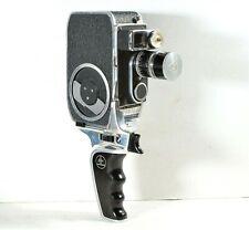 Paillard Bolex Vintage B8SL 8mm Film Movie Camera, 13mm Lens, Hood & Hand Grip