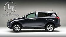 Toyota RAV4 Stainless Steel Chrome Pillar Posts by Luxury Trims 2013-2015 (6pcs)