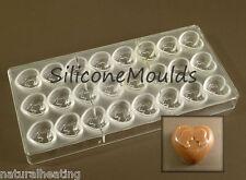 Nuevo 24 Celular Romance Profesional De Policarbonato Chocolate Molde Molde Candy Moldes