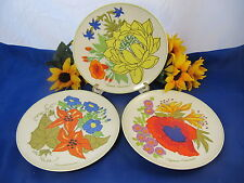 HEINRICH LEMEAU Design Tastesetter Collection Salad Plates Set Of 3 GERMANY