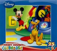 Disney Mickey Mouse Clubhouse Puzzle Factory Sealed 25 Pieces New made 2007