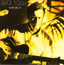 "JAVIER BERGIA - VIVIR SIN TI + AUSENCIA SINGLE 7"" SPAIN PROMO 1985 EXCELLENT"