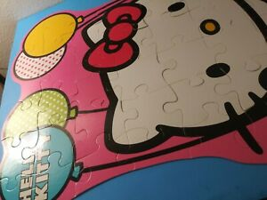 Puzzle: Hello Kitty shaped floor puzzle