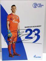 Markus Schubert + Autogrammkarte 2019/2020 + FC Schalke 04 + AK2019136 +
