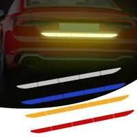 Car Auto Reflective Warn Strip Tape Bumper Truck Safety Stickers Decals 90cm