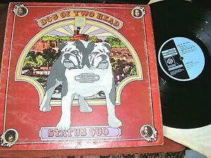 STATUS QUO   -     Dog Of Two Head,      RARE ORIGINAL 1971 UK 'RED VINYL' LP