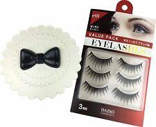 Daiso Cute Case Bow Fairy Ribbon + 3 pairs False Eyelash Accessories BEST DEAL