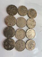 ⚡️Rare Australian Fifty 50 Cent Coin - Low Mintage 💥 Australian Coins ⭐️