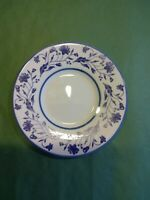 """7.25"""" TOTALLY TODAY blue flower  Plate  Blue  Flowers"""