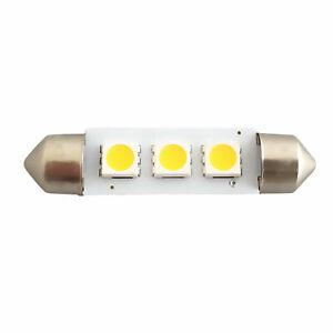 Festoon LED Bulb 12V 24V 3SMD 1W 36mm 39mm 42mm Caravan, Motorhome & Boat Light