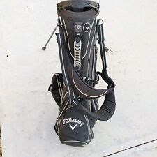 Callaway HyperLite 4 4.0 Michelob Ultra Golf Bag Stand Dual Strap 6 Way Divider