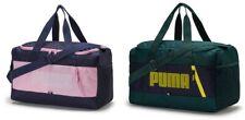 Puma Fendamentals Small Duffel Bags Running Sports Navy Green Bag Sacks 07509407