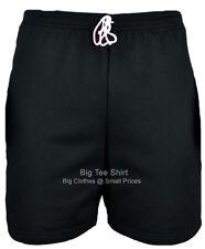 Big Mens Black BTS Shorts 2xl 3xl 4xl 5xl 6xl 7xl 8xl