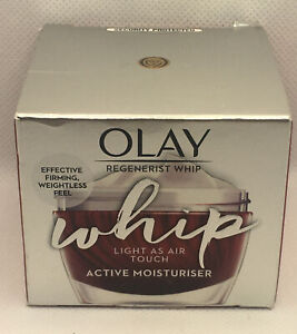 Olay REGENERIST Whip Light As Air Touch Active Moisturiser CREAM 50ml (Free P&P)