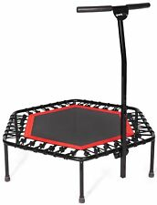 SportPlus Silent Fitness Mini Trampoline with Handle Bar / OR Replacement Bun...