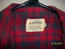 Kentfield Hipster Flannel Shirt ~ Tailored in British Hong Kong ~ Size - Medium