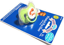 NEW GREEN BABY KING FOX SOFT SILICONE PACIFIER BINKY 0+ MONTHS BPA FREE