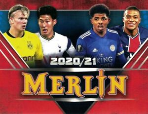 2020/21 Topps Merlin Chrome Uefa Champions RC ROOKIE e base Scegli card