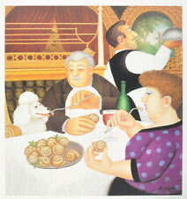 """""""Dining in Paris"""" Beryl Cook Limited Edition Signed print Print"""
