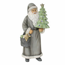 Widdop Light Up Santa Claus with Christmas Tree Figurine Ornament Decor 47.5cm