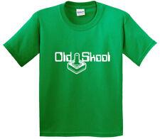 New Way 698 - Youth T-Shirt Old Skool School Nintendo Atari Joystick