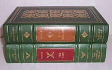 Franklin Library 25th annv Great Books HOMER'S Iliad & Odyssey 2 vols