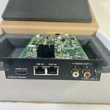 MINT! Crestron DMC-4K-C Digital Media Card