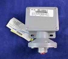 """SOR Static """"O"""" Ring 12NN-K614-N4-C1A-TT Pressure Switch 2.5-45 IN WC"""