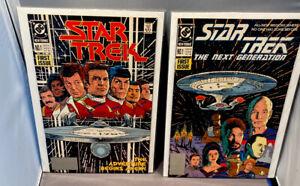 STAR TREK #1 & STAR TREK - THE NEXT GENERATION #1 - VERY FINE OR BETTER