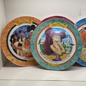 6 McDonald's Hercules Disney plates 1997 Fast professional shipping