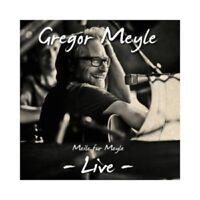 GREGOR MEYLE - MEILE FÜR MEYLE-LIVE  CD 16 TRACKS DEUTSCH POP NEU