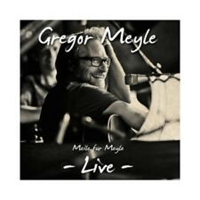 GREGOR MEYLE - MEILE FÜR MEYLE-LIVE  CD 16 TRACKS DEUTSCH POP NEU