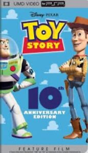 Disney Pixar Toy Story 10th Anniversary Edition - PSP Video. Case & UMD.