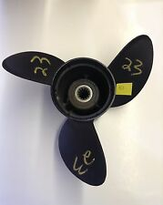 New OMC Stainless Steel/Teflon Coated  3-Blade Propeller