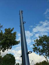 Augbolzen Ø70x3mm Sonnensegel 2,5m Edelstahl Mast mit Öse