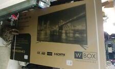 """W-box OE-65LED4k 65"""" 4k TV new in box!"""