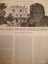 Ephemera 1966 Article Victor Hugo Exile In Guernsey Hauteville House 2 Pages M48