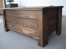 Massive handgemachte Holzkiste Truhe Box Holz Tisch  Antik Dekoration AL2