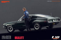 1:18 Steve McQueen Bullitt NO CAR !!! figurine for 1:18 Autoart Ford Mustang SF