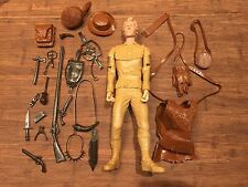 Marx Daniel Boone, Clint Eastwood, Custom, Johnny West Reissue.